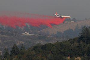 Per gaisrus Kalifornijoje žuvusių žmonių skaičius padidėjo iki 40