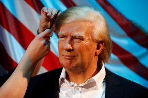 Berlyno Madame Tussauds muziejuje atsidurs ir D. Trumpas