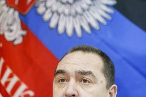 Kijevas: Luhansko separatistų vadas pabėgo į Rusiją