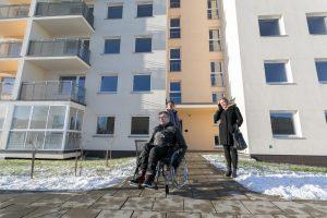 Socialinio būsto laukiantiems vilniečiams – naujas daugiabutis
