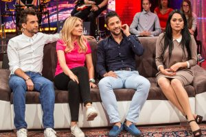 Dainininkas A. Chošnau vis dar jaučia jaudulį pasirodydamas TV eteryje