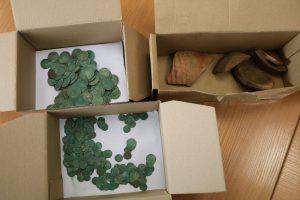 Laisvės alėjoje atrastas beveik 500 metų senumo lobis
