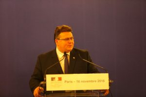 L. Linkevičius: Lietuvai persitvarkant buvo svarbi prancūzų parama