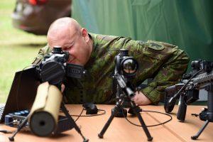 Kazlų Rūdos poligone – išskirtinė mobili kariuomenės stovykla