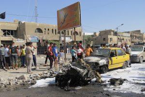 Per sprogimus Bagdade žuvo mažiausiai 11 žmonių