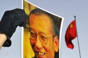 Kinija smerkia JAV norą pavadinti gatvę kalinamo Nobelio premijos laureato vardu