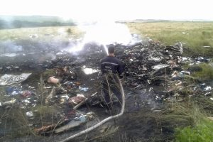 Ukraina: tyrimo išvados įrodo Rusijos dalyvavimą lėktuvo numušime