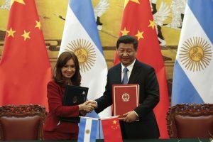 Argentinos prezidentė pasišaipė iš kiniškos tarsenos