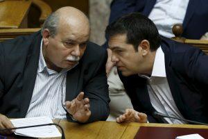 """Naujasis Graikijos parlamentas pirmininku išsirinko """"Syriza"""" veteraną"""