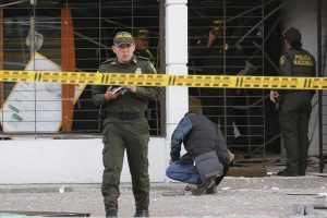 Kolumbijos sostinėje – du sprogimai
