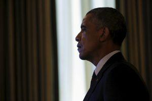 Ragindamas pritarti sutarčiai su Iranu, B. Obama paminės J. Kennedy ir Irako karą