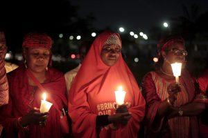 """Nuo """"Boko Haram"""" kovotojų įvykdyto mokinukių pagrobimo – jau 500 dienų"""