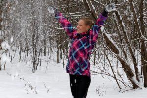 Lengvaatletės V. Žūsinaitės patarimai, kaip bėgioti žiemą ir nesusirgti