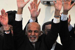 A. Ghani prisaikdintas naujuoju Afganistano prezidentu