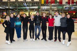 P. Vanagas mokė čiuožti žinomus Lietuvoje žmones