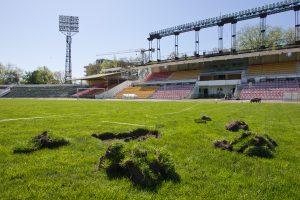 """Šiaulių bankas parduoda """"Žalgirio"""" stadiono kompleksą"""
