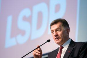 A. Butkevičius prognozuoja, kas iš jo perims partijos vado vairą