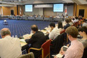 Ukraina ir Japonija ESBO susitikime ragina gerbti įstatymo viršenybę