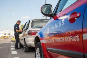 """Per 2 savaites sostinės taksi vairuotojai """"paskatinti"""" beveik šimtu protokolų"""