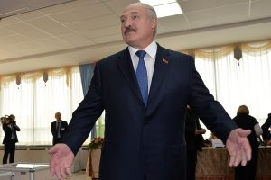 A. Lukašenka: sovietinio tipo autokratas prie ES slenksčio