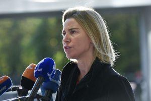 F. Mogherini: Rusijos intervencija Sirijoje – žaidimą keičiantis veiksnys