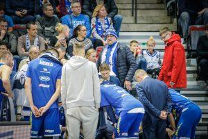 """Neptūno"""" treneris K. Maksvytis: nerealu žaisti tokioje atmosferoje"""