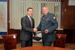 Investicija į miestiečių saugumą įtvirtinta sutartimi