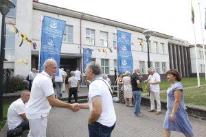 Lietuvos aukštosios jūreivystės mokyklos jubiliejuje – alumnų desantas