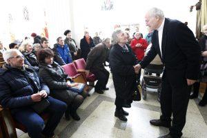 Klaipėdiečiai susitiko su misionieriumi H. Šulcu