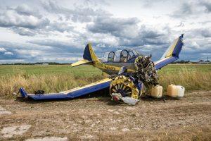 Aleksoto aerodrome nukrito avariniu būdu turėjęs leistis lėktuvas