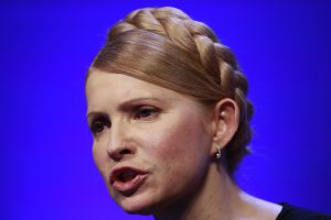 J. Tymošenko reikalauja Ukrainos vyriausybės keitimo