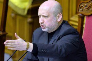 Ukrainos saugumo vadovo O. Turčynovo žmoną peiliu puolė vyras iš Donecko