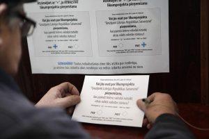 Naujoji referendumų inicijavimo tvarka atitinka Latvijos konstituciją