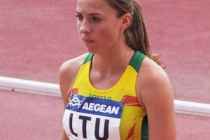 Bėgikė N. Piliušina pagerino Lietuvos rekordą