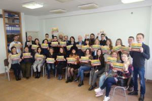 Užsienio baltistikos studentai Lietuvai siunčia originalų pasveikinimą
