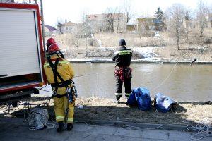 Neries upėje Vilniuje rastas moters kūnas
