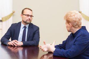 Prezidentė dar nepaskyrė M. Kvietkausko švietimo ministru