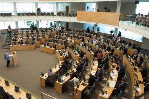 Prezidentūra: užmojis mažinti Seimo narių skaičių yra populistinis