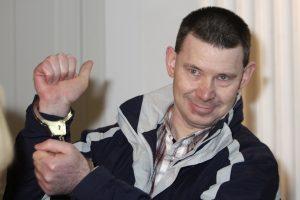 Sukarintos grupuotės lyderis Lietuvoje pasigedo sąžiningo teismo