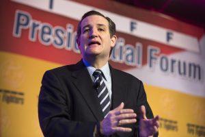 Respublikonas T. Cruzas – pirmasis oficialus kandidatas į JAV prezidento postą