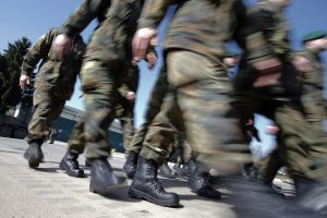 Konfliktas prie Ruklos baro: neblaivūs Vokietijos kariai prikūlė vyrą