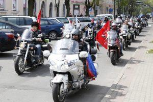 Lietuvos pasieniečiai neįleido dar vieno motociklininko iš Rusijos