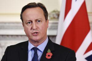 D. Cameronas perspės dėl Britanijos išstojimo iš ES