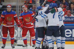 Suomijos ledo ritulininkai užkirto rusams kelią į finalą