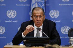 S. Lavrovas: JAV ir Rusijos susitarimai dėl Sirijos privalo būti išgelbėti