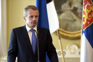 """Estijos ministras tikisi, kad sutartis dėl """"Rail Balticos"""" bus pasirašyta"""