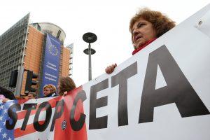 ES ir Kanados prekybos sutarties ratifikavimas nukeliamas rudeniui
