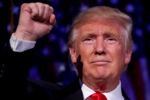 JAV prezidentas D. Trumpas sveikina Lietuvą