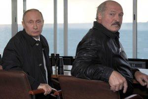 Didėjant Rusijos ir Baltarusijos priešpriešai V. Putinas netenka kantrybės