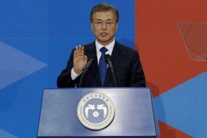 Pietų Korėjos prezidentas paskelbė naujos vyriausybės ministrus